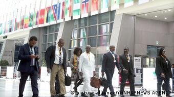 Südkorea Jahrestreffen der Afrikanische Entwicklungsbank (AfDB) in Busan (picture-alliance/YONHAPNEWS AGENCY)