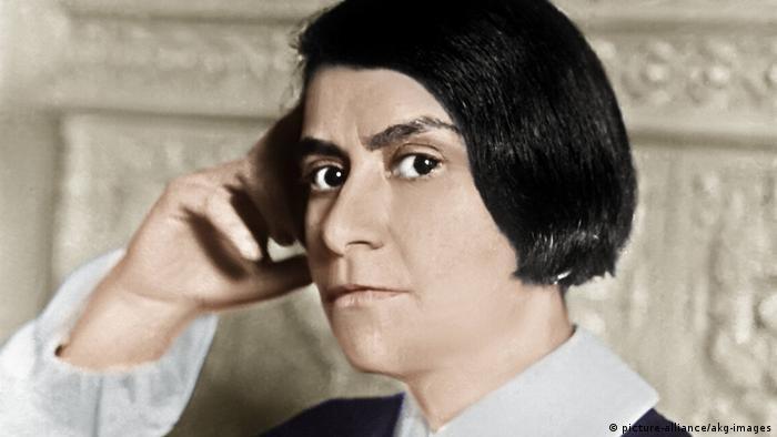 Else Lasker-Schüler, Porträtaufnahme, 1932