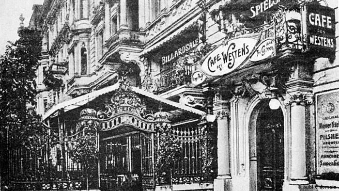 Berlin Café des Westens, historisch