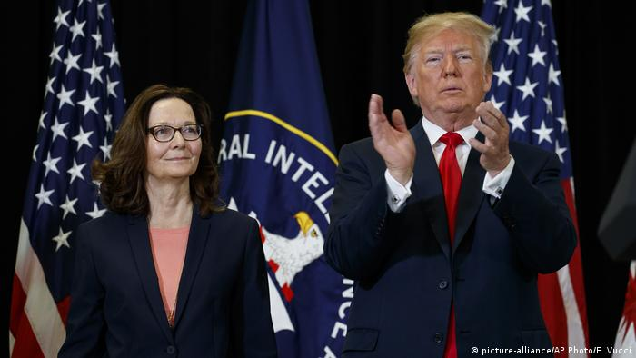 Gina Haspel becomes first woman to head CIA