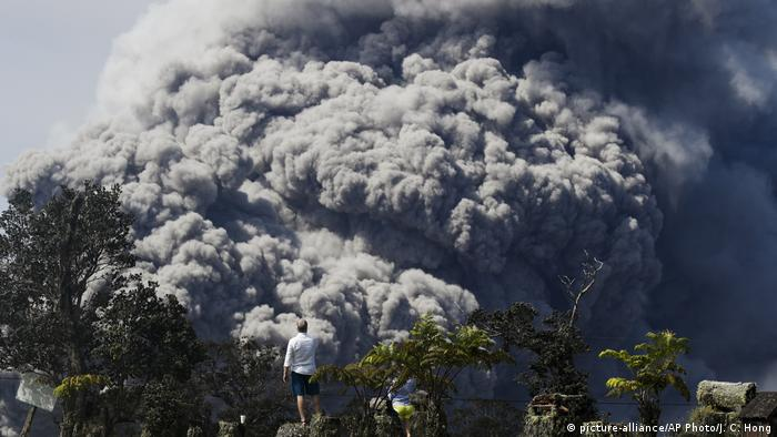 Hawaii volcano eruption (picture-alliance/AP Photo/J. C. Hong)