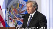 USA Luis Almagro in Washington (picture-alliance/ZUMA Wire/M. Brochstein)