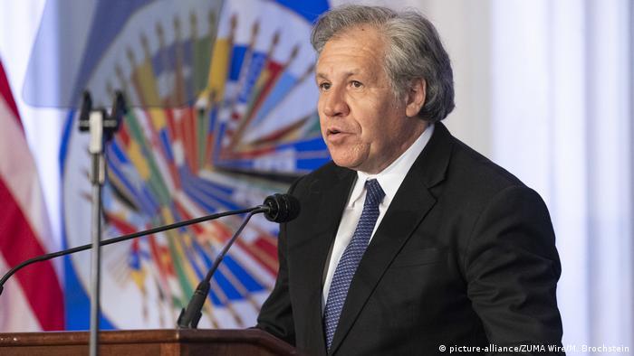Almagro se presenta a la reelección como secretario general de la OEA | El  Mundo | DW | 06.12.2018