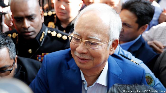 Malaysia Najib Razak in Malaysian city of Putrajaya