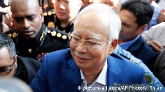 Malaysia Najib Razak in Putrajaya