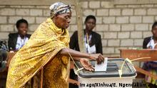 (180518) -- NGOZI (BURUNDI), May 18, 2018 -- A woman casts her vote in a constitutional referendum in Ngozi Province, Burundi, on May 17, 2018. Vote counting after Burundi s constitutional referendum held on Thursday has ended, but the compilation is still going on before the publication of provisional results, the country s electoral commission said Friday. ) BURUNDI-NGOZI-CONSTITUTIONAL REFERENDUM EvrardxNgendakumana PUBLICATIONxNOTxINxCHN