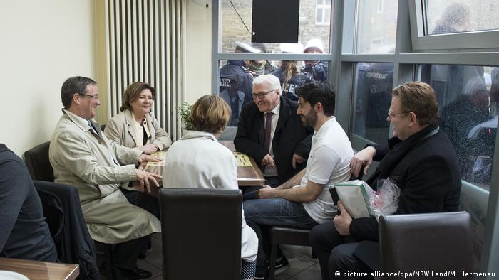 President Walter Steinmeier visited Altena in February and met Demir Abdullah