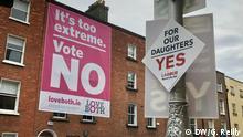 Irlan - Abtreibungs-Referendum
