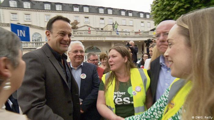 Irlan - Abtreibungs-Referendum (DW/G. Reilly)