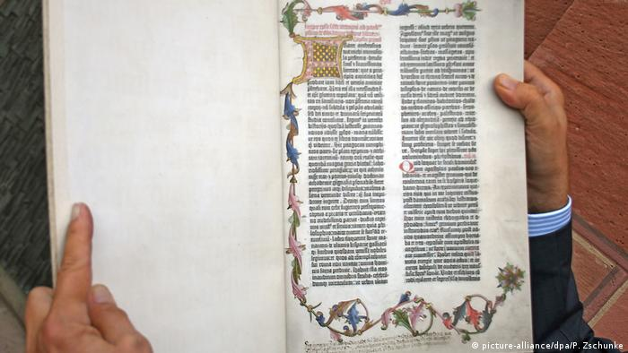 The Gutenberg Bible re-published 550 years after his death | Books