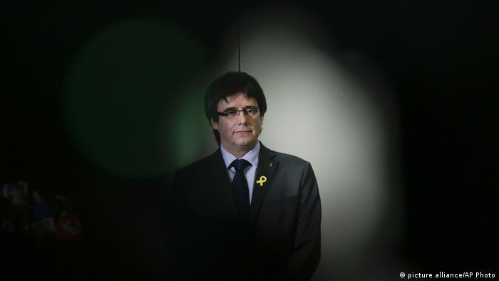 Carles Puigdemont (picture alliance/AP Photo)