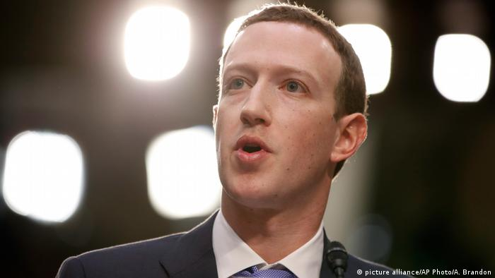 USA Kongress Anhörung Mark Zuckerberg, Facebook CEO