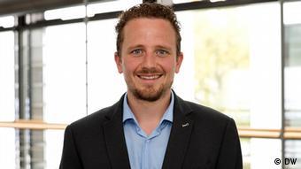 DW Mitarbeiter Benjamin Schnabel