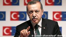 Bildergalerie Türkei Präsident Recep Tayyip Erdogan