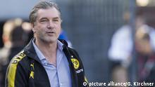 Fussball Sportdirektor Dortmund Michael Zorc