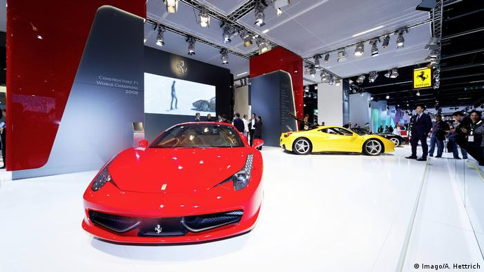 Ferrari (Imago/A. Hettrich)