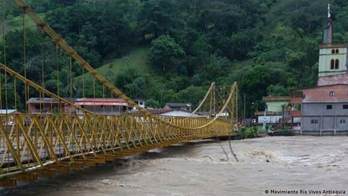Wasserkraftwerke in Kolumbien (Movimiento Río Vivos Antioquia)