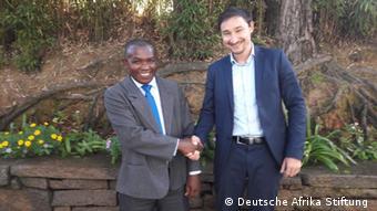 Deutsche Afrika Stiftung Pressebild | Clovis Razafimalala & Marcus Schneider