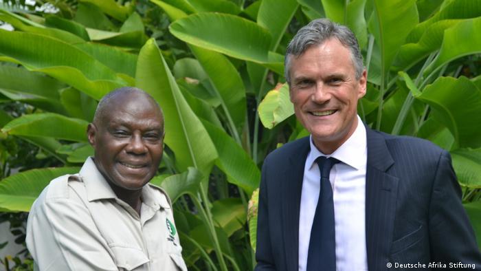 Deutsche Afrika Stiftung Pressebild | Gerald Bigurube & Detlef Wächter