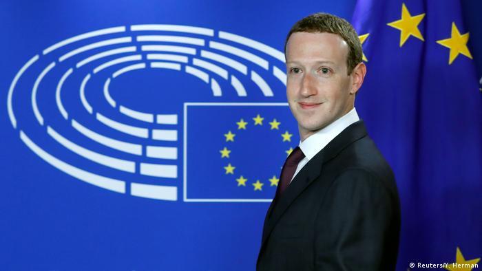 Zuckerberg Avrupalı Facebook kullanıcılarından özür diledi | AVRUPA | DW | 22.05.2018