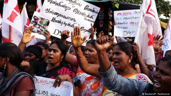 Indien Protest (Reuters/P. Ravikumar)