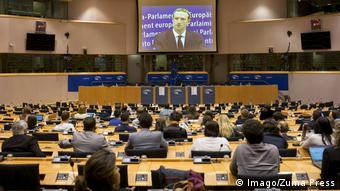 Aπό την ακρόαση Ζάκερμπεργκ στις Βρυξέλλες