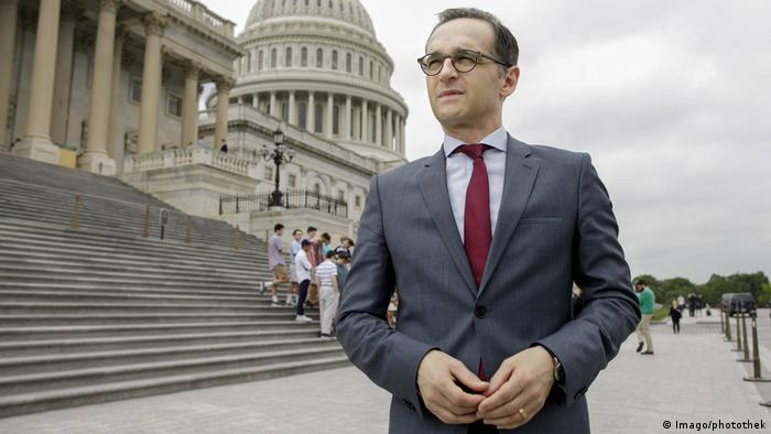 Heiko Maas in Washington (Imago/photothek)