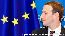 Brüssel EU-Parlament | Mark Zuckerberg, Facebook-CEO (picture-alliance/AA/European Parliament)