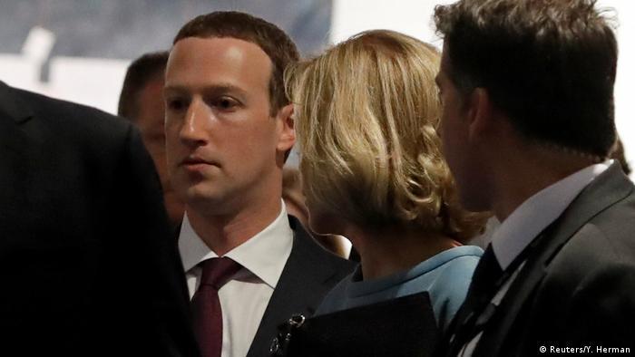 Марк Цукерберг после слушаний в Европарламенте