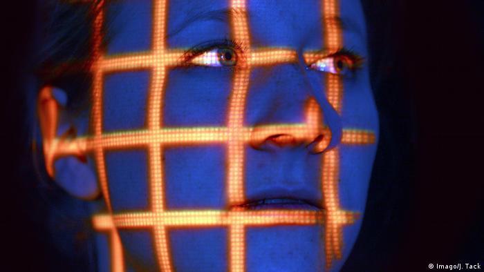 Symbolbild Gesichtserkennung (Imago/J. Tack)