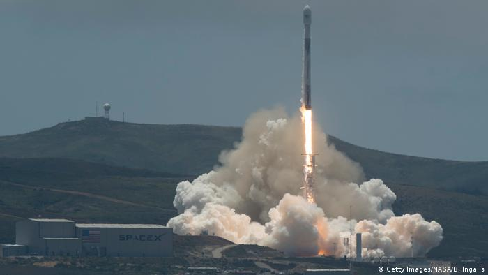 USA Vandenberg Air Force Base Raketenstart von Forschungsmission NASA/GRACE (Getty Images/NASA/B. Ingalls)
