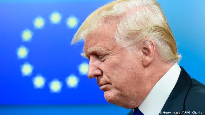 Brüssel - Eu-Abgeordnete wollen Europäisch-Amerikanisches Gipfeltreffen (Getty Images/AFP/T. Charlier)