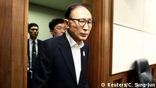 Südkorea - Gerichtsverfahren gegen Ex-Präsident Lee