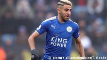 Fussball - Riyad Mahrez