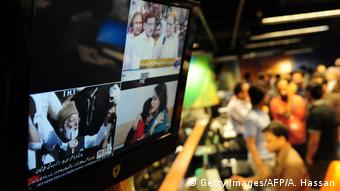 Newsroom of Geo Television in Karachi, Pakistan (photo: Getty Images/Asif Hassan)