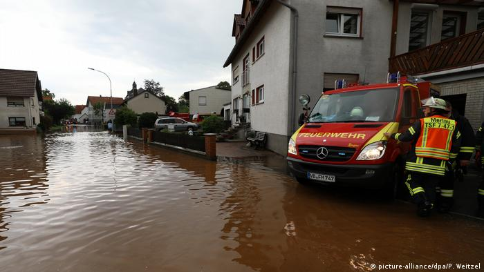 Flooding in Hessen
