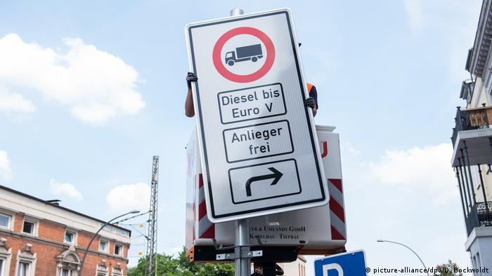 Diesel-Fahrverbote in Hamburg (picture-alliance/dpa/D. Bockwoldt)