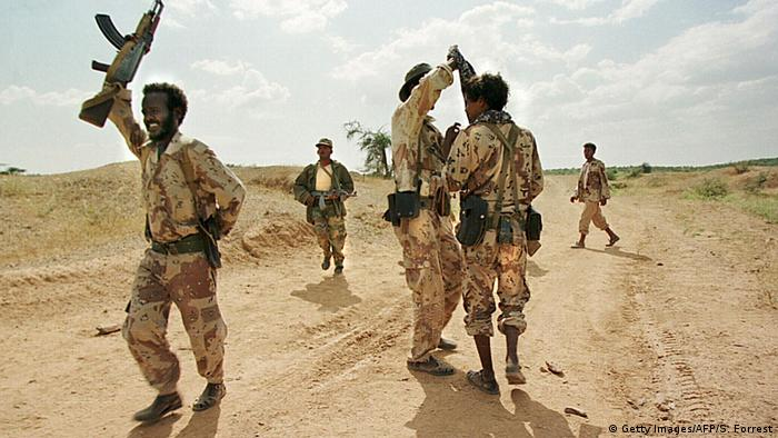 Eritrean soldiers (Getty Images/AFP/S. Forrest)