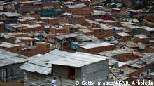 Kolumbien Wahlen - Slums im Süden Bogotas