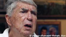 Luis Posada Carriles - Verdächtiger diverser Sprengstoffattentate verstorben