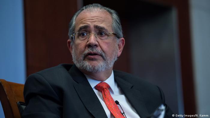 Der Herausgeber der regierungskritischen venezolanischen Zeitung El Nacional, Miguel Henrique Otero