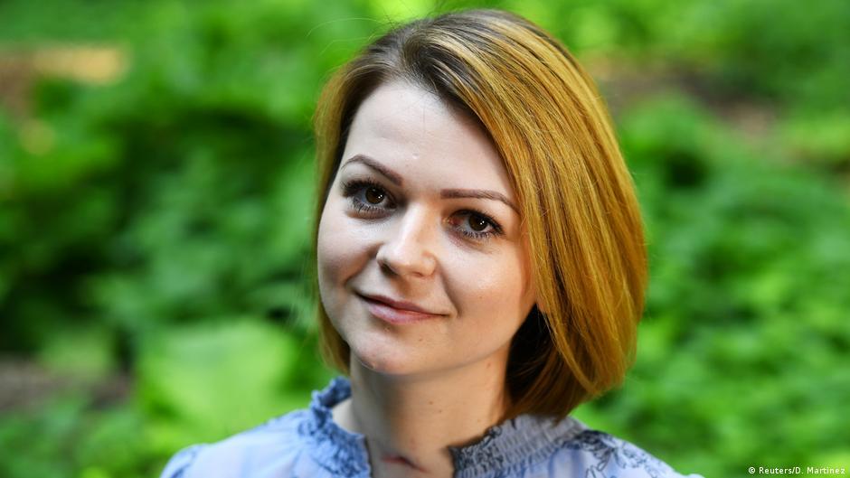 Großbritannien London Julia Skripal, Tochter von Sergej Skripal