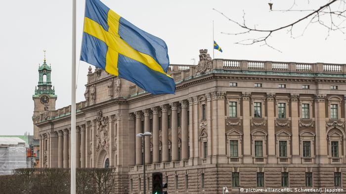 Schweden | Parlamentsgebäude Riksdag