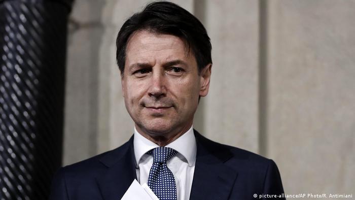 Голова уряду Італії Джузеппе Конте