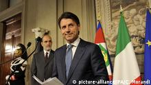 23.05.2018+++Rom, Italien+++ Rome, Quirinale, Consultations. Pictured: Giuseppe Conte |