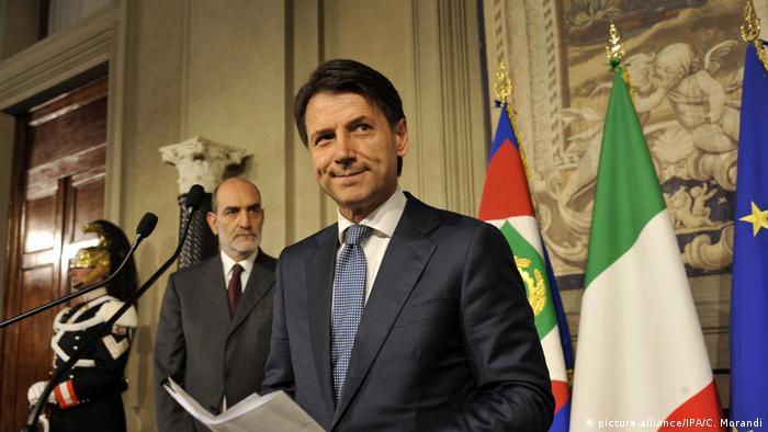 Italia | Giuseppe Conte (picture-alliance/IPA/C. Morandi)
