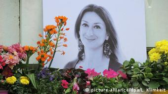 Убитая на Мальте журналистка Дафна Каруана Галиция