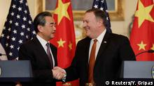 USA | Außenminister Wang Yi und Pompeo