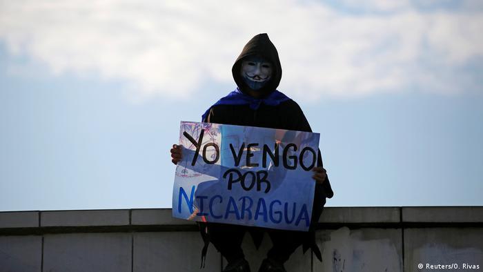 Nicaragua | Proteste gegen Ortegas Regierung (Reuters/O. Rivas)