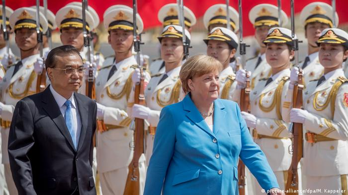 Merkel in China (picture-alliance/dpa/M. Kappeler)
